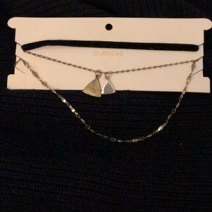 Evereve triple necklace set